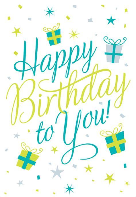 Happy Birthday to You - Birthday Card | Greetings Island