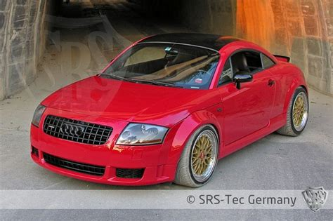 Srs Wide Fenders For Audi Tt Mk1 8n (with Cut Outs) Pg