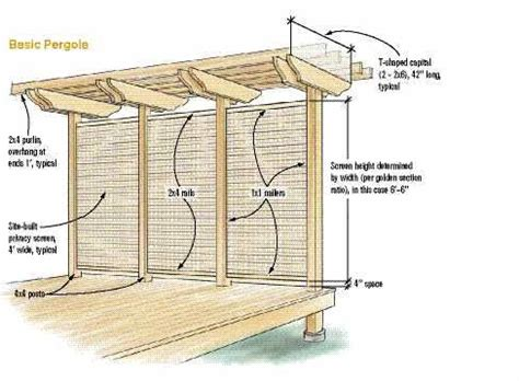 framing  pergola professional deck builder outdoor