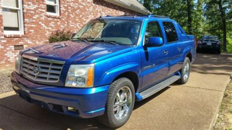 on board diagnostic system 2004 cadillac escalade ext parking system buy used 2004 cadillac escalade ext out of the blue in henderson tennessee united states
