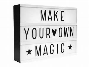 Boite Lumineuse Lettre : acheter lightbox a4 noire bo te lumineuse lettres ~ Teatrodelosmanantiales.com Idées de Décoration