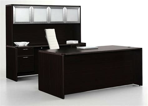 Office Desk With Credenza by Executive Office Desk With Box File Kneespace