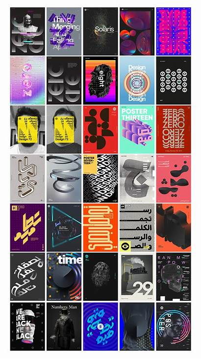 Posters Zero Behance Graphic Inspiration Vol Yosef