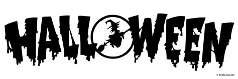 halloween banner black  white festival collections