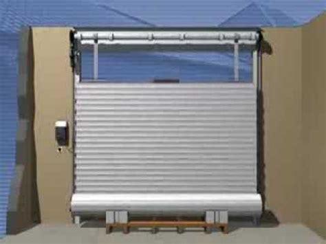 montage dune porte de garage enroulable rollmatic hoermann