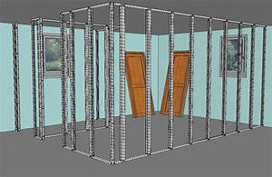 Poser Placo Mur Avec Rail : pose mur placo john anto ~ Melissatoandfro.com Idées de Décoration