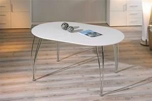 Esstisch Oval Weiß Ausziehbar : tisch esstisch oval ausziehbar wei oliviero kaufen bei eh m bel ~ Frokenaadalensverden.com Haus und Dekorationen