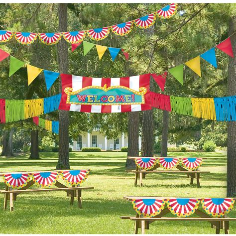 Giant Outdoor Carnival Decorating Kit Birthdayexpresscom
