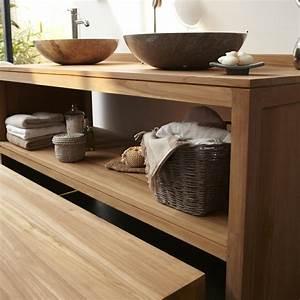 Waschtischunterschrank Für Aufsatzwaschbecken Holz : waschtisch aus holz und andere rustikale badezimmer ideen ~ Bigdaddyawards.com Haus und Dekorationen