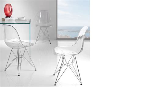 chaise polycarbonate transparente chaise transparent design en polycarbonate et pieds