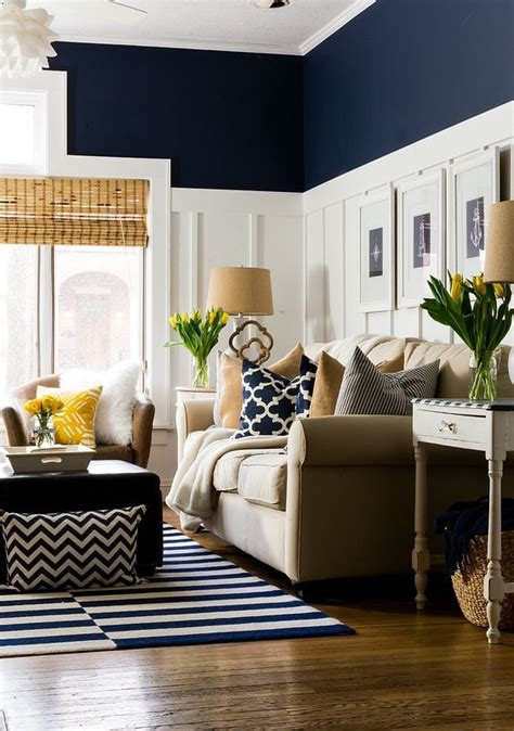 Navy Living Room by Best 20 Navy Living Rooms Ideas On
