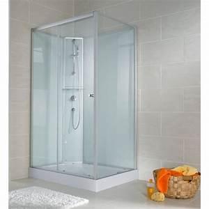 Porte Coulissante 120 Cm : cabine de douche int grale 120x90 cm cabine de douche ~ Dailycaller-alerts.com Idées de Décoration