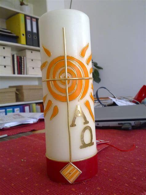 osterkerze selber basteln 1000 images about kerzen gestalten on handmade candles church candles and cut bottles