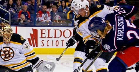 bruins  blue jackets  preview spooky ohio games