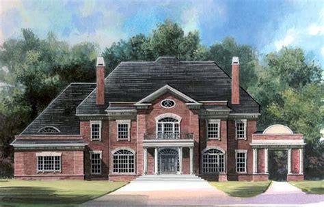 Greek Revival House Plan 72107