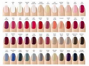 Opi Gel Polish Color Chart Diy Cnd Shellac Manicure Perfetta E Resistente Fai Da Te