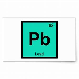 periodic table symbol pb pb lead chemistry periodic table symbol element sticker - Periodic Table Symbol Pb