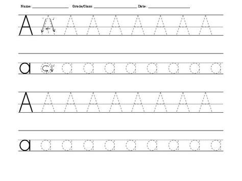 Traceable Letters Worksheets  Kiddo Shelter
