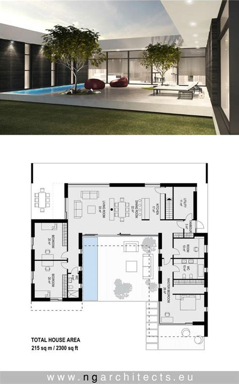 modern villa aj designed  ng architects wwwngarchitects