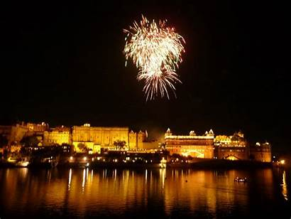 Diwali India Festival Celebration Udaipur Wallpapers Lights