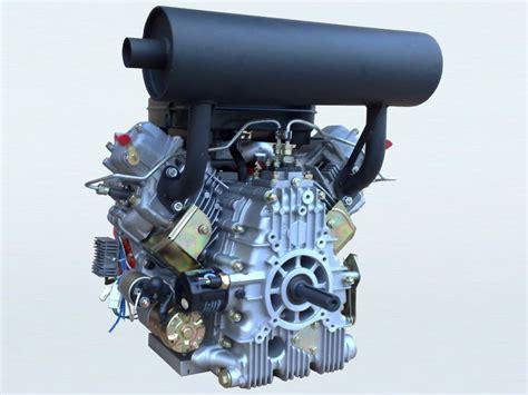 27hp V-twin Electric Start Diesel Engine