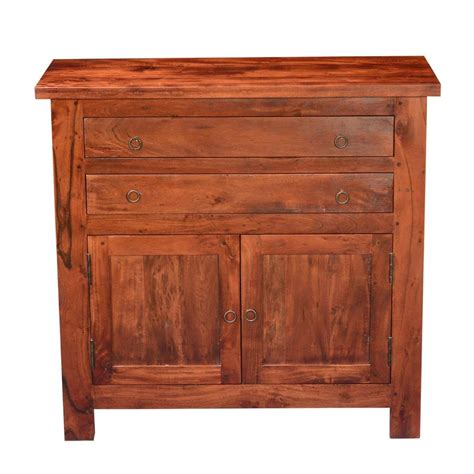 Acacia Sideboard by Mission Classic Acacia Wood Buffet Sideboard Cabinet