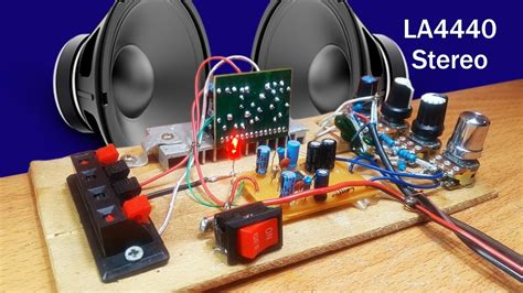 amplifier stereo  ic la   ic