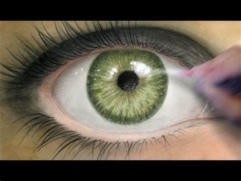 paint  realistic eye coloring tutorial youtube