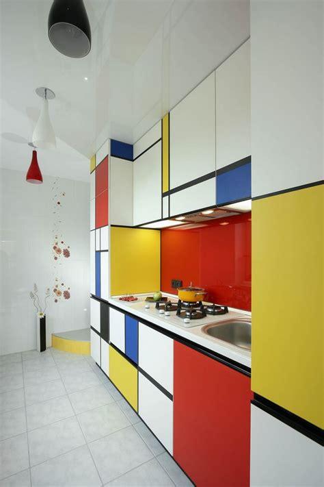 cuisine bauhaus а у меня мондриан абстракционизм на кухне mobiliario