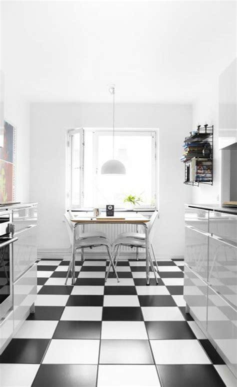 cuisine noir blanc carrelage noir et blanc cuisine dootdadoo com idées de