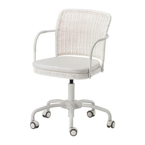 white desk chair ikea gregor bureaustoel vittaryd wit ikea