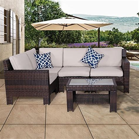 Patio Furniture Loveseat Clearance by Diensday Patio Outdoor Furniture Sectional Conversation