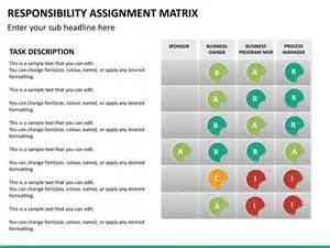 Free Templates Excel Responsibility Assignment Matrix Powerpoint Template Sketchbubble