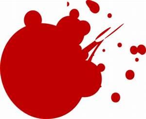 Red Dot Splat Clip Art at Clker.com - vector clip art ...