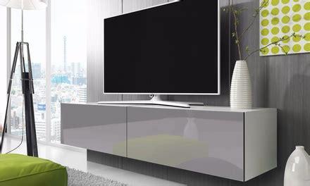 jusqu 224 59 meuble tv mural groupon