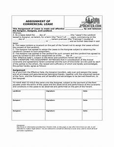 assignment of commercial lease free download With assignment of lease template