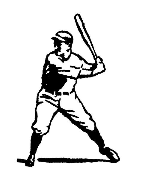 clipart illustrations digital st design vintage stock sports clip