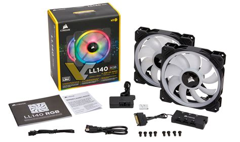 Corsair's New Ll140 And Ll120 Rgb Fans Pictured And Leaked