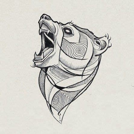 pin von bischi ve auf tattoos baer tattoos abstrakte
