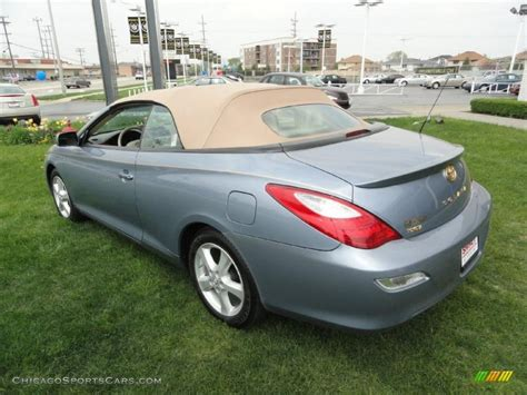 2008 Toyota Solara Convertible by 2008 Toyota Solara Sle V6 Convertible In Cosmic Blue