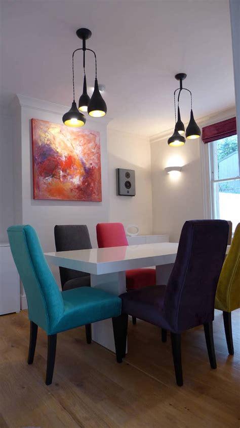 bright  colorful dining room design ideas interior god