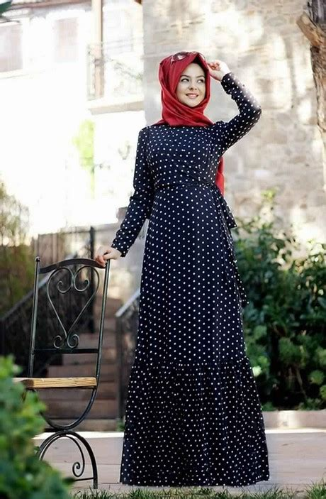 robe longue hijab moderne