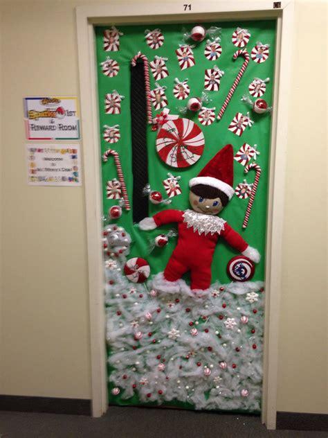 sons orions vpk winter door  year decorated