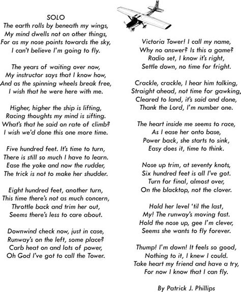 flyers prayer aviation poetry  patrick  phillips