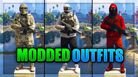 Top 3 Best TryHard u0026 RnG Modded Outfits In GTA 5 After Patch 1.40! (Best Modded Outfits 1.40 ...