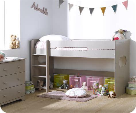 lit mi hauteur avec bureau pack lit enfant mi hauteur spark 90x200 cm avec matelas