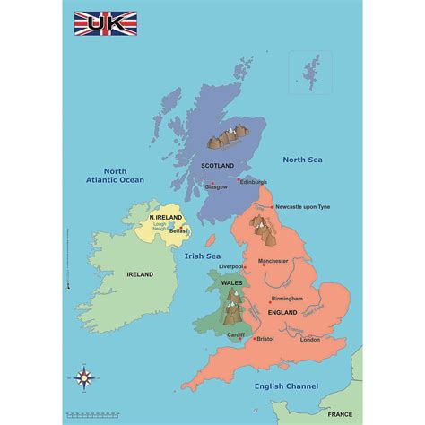 simple map   uk findel international