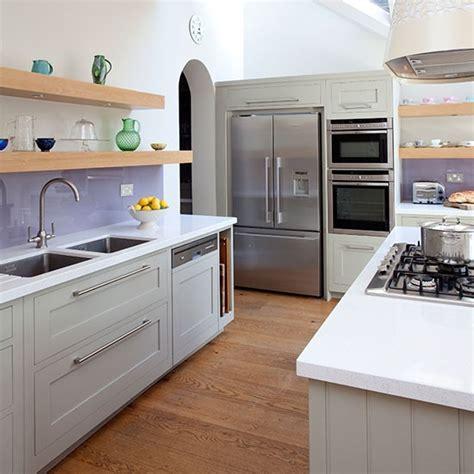 Kitchen Floor Units by Modern Kitchen With Sleek And Stylish Units Kitchen