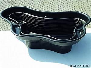 Bassin Exterieur Preforme : bassin pr form calmus 145 l en poly thyl ne almateon ~ Premium-room.com Idées de Décoration