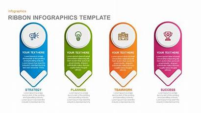 Powerpoint Infographics Template Ribbon Infographic Slides Templates